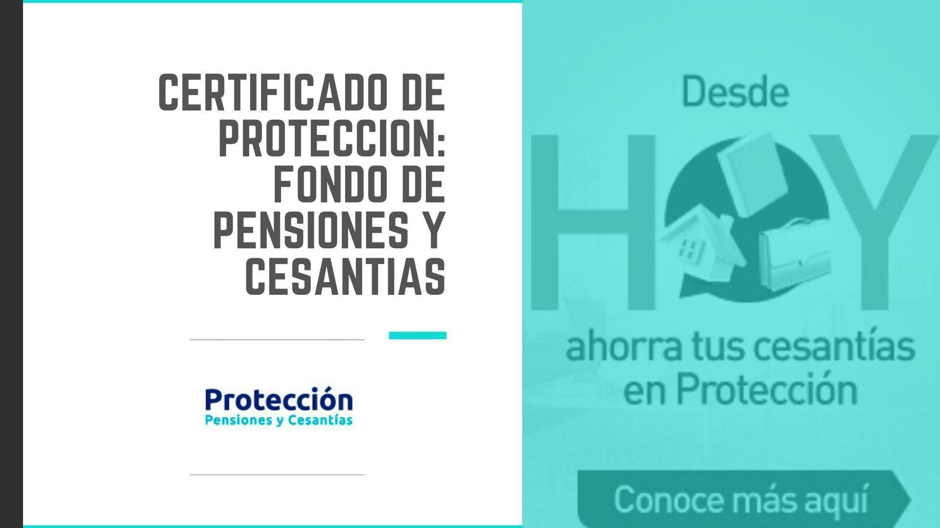 Cómo descargar el Certificado de Protección Certifácil